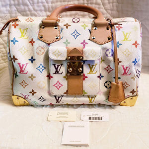 Louis Vuitton murakami multicolor speedy 30